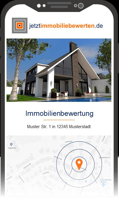 Immobilie bewerten Handy